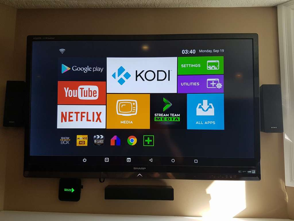 onD Kodi Streaming Android Box