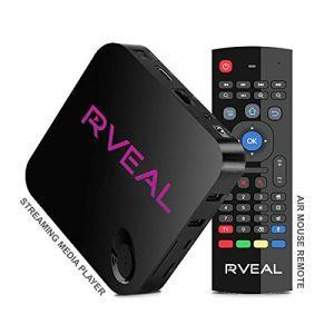 Rveal - Rveal Media TV Tuner & Air Mouse Remote [Android, 4K, Quad-Core]