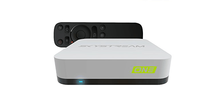 SkyStream ONE Android TV Box Fully Loaded KODI with SkyStreamTV Updater 2G 16G 4K Plug-Play-Ready