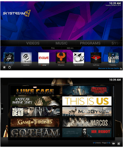 Skystream One Kodi
