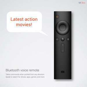 Mi Box remote voice control