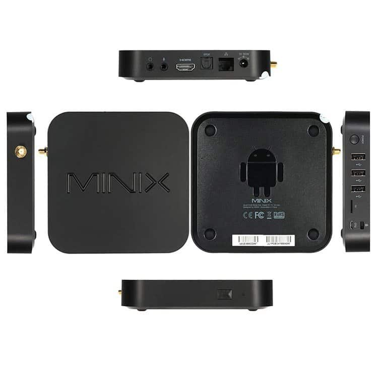 Minix Neo U1 top and side