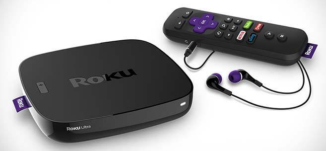 roku ultra set top box