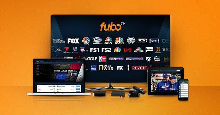 fubo tv interface