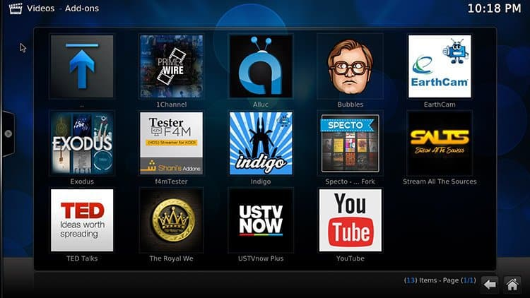 Preloaded Kodi Android box