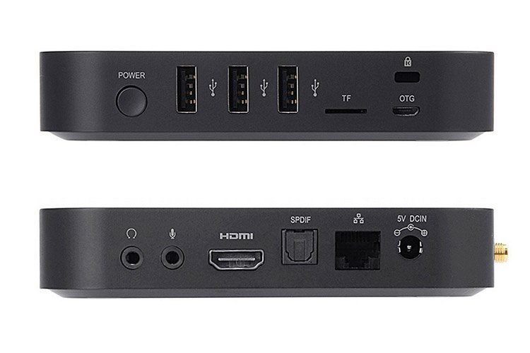 Minix Neo U9-H Ports