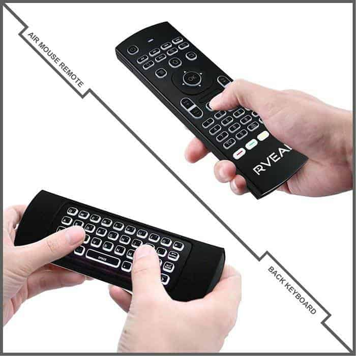 rveal 2 backlit air mouse remote