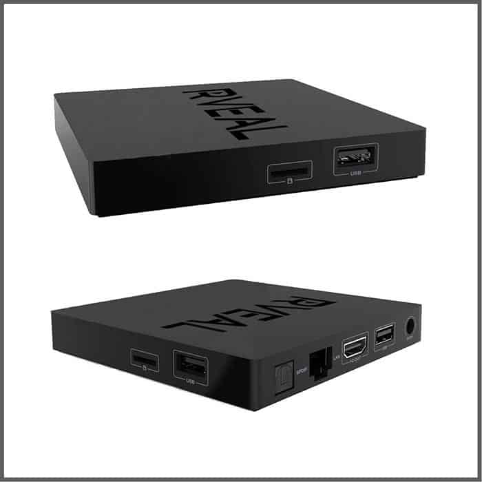 rveal 2 streaming media player connections