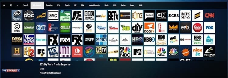 iptv subscription web portal