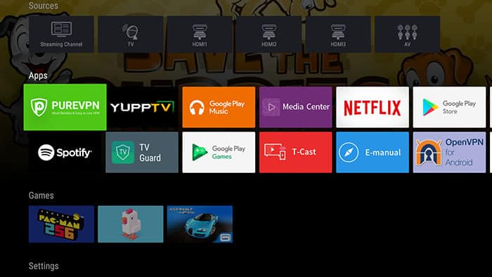 vpn for android tv box
