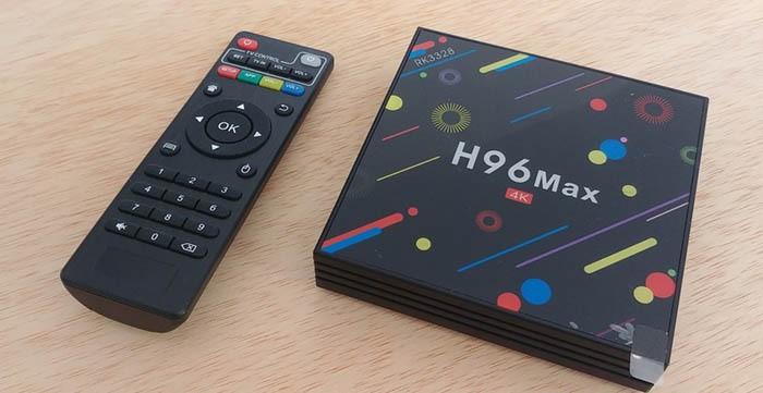 Android 8.1 4K Smart TV Box 4G+64GB H96 Max Display Screen RK3328 UHD Quad-Core WiFi Ultra HD H.265 Bluetooth