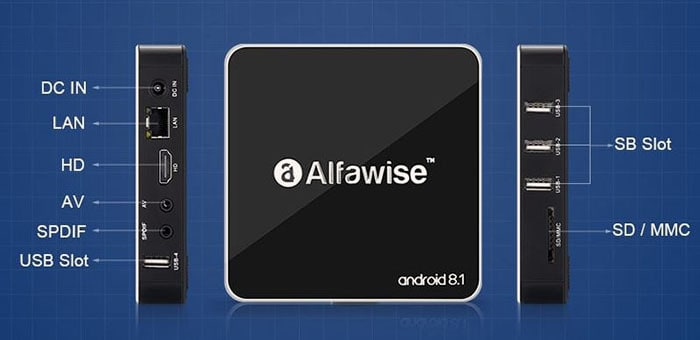 alfawise a8 specs