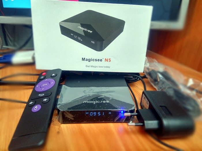 Magicsee N5 Unboxing