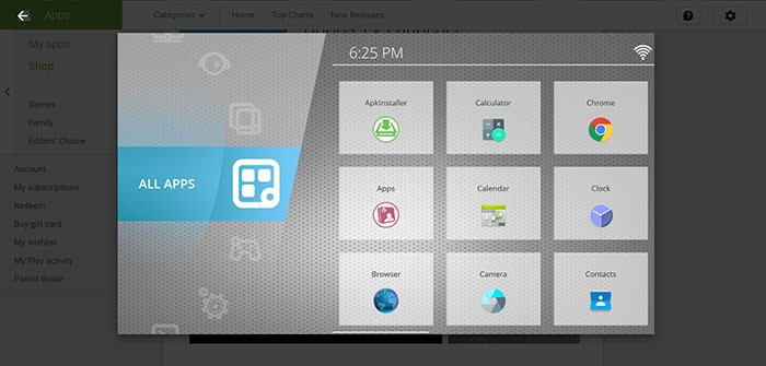 ugoss android tv launcher
