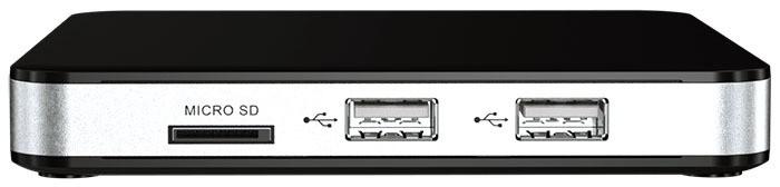 tvip v.605 iptv box front