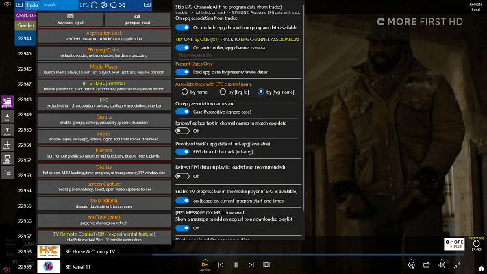Watch IPTV on Windows 10 using Best Player